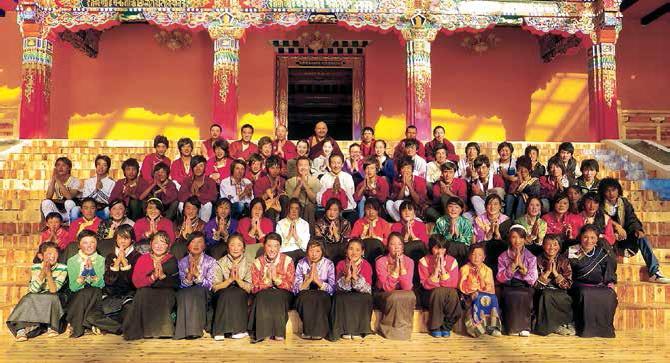 传承千年的阿坝州藏传佛教觉囊画派艺术 - 瑞祥多吉 - 瑞瑞的博客